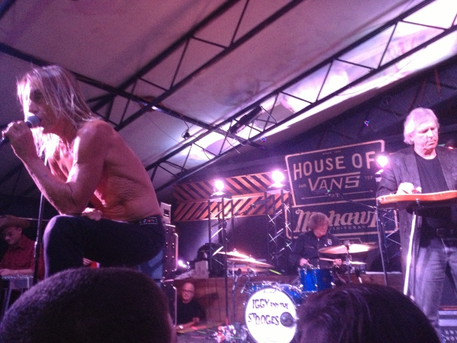 Iggy and The Stooges Rock 'N Roll at SXSW