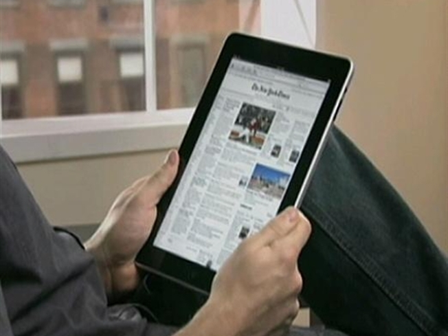 New York Times Wants to Control Apple's iPad