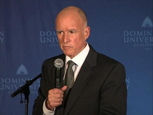 Jerry Brown Woos Younger Voters