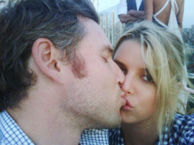 Jessica Simpson Flaunts New Guy Pal