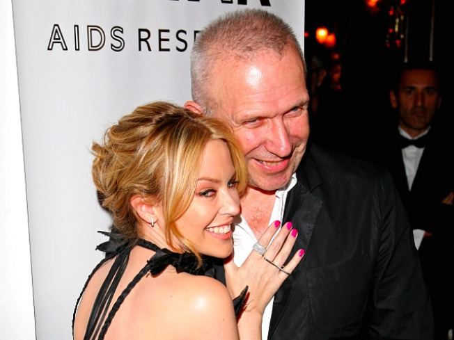 Kylie Minogue Parts With Jean Paul Gaultier Dress To Support AIDS Charity