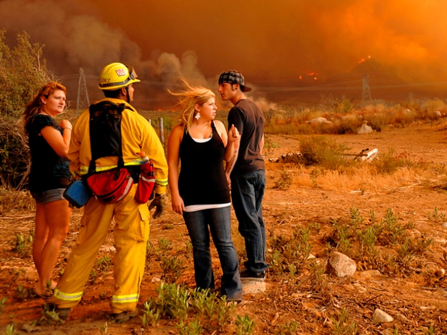 Station Fire: Evacuation Orders, School Closings