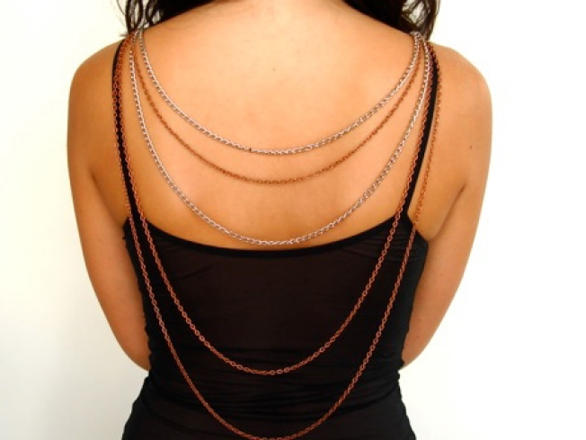 Let the Dame Wrap You Up in Jeweled Chains