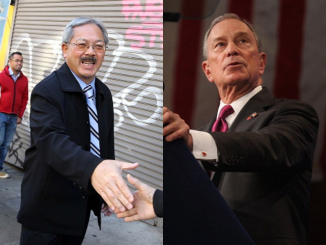 Ed Lee to Michael Bloomberg: It's a Bet