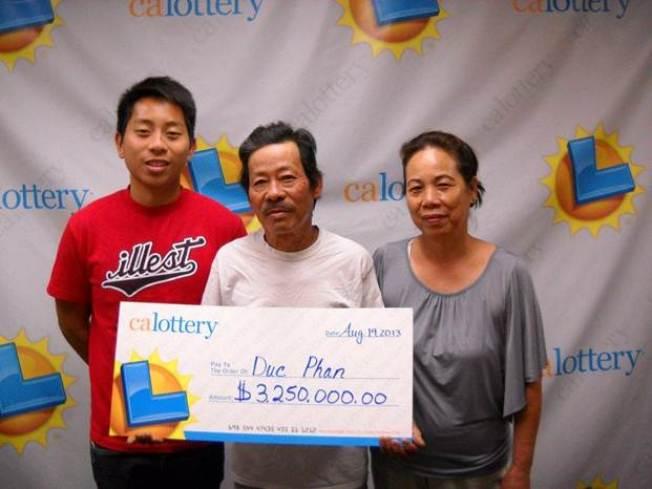 SJ Man Wins $3.25 Million on Lottery Scratcher Ticket