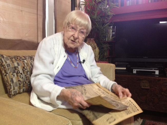 Bay Area Woman, 99,  Remembers the Before and After of Bay Bridge Eastern Span