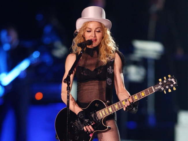 Madonna's Kids Mimic Material Mom's Style, Dance Moves