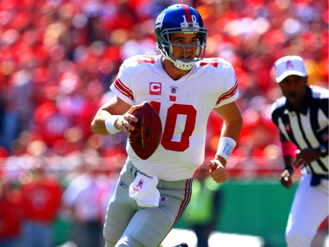 Eli Manning Gets MRI -- But Hopeful for Next Sunday