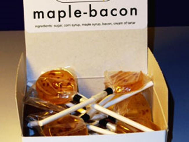 Lick Yourself Some Maple Bacon Lollipops