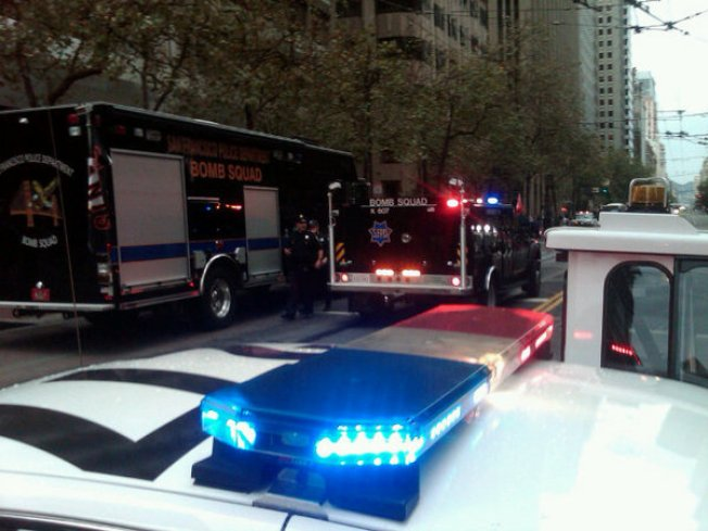 Bomb Squad Shuts Down Section of Market Street