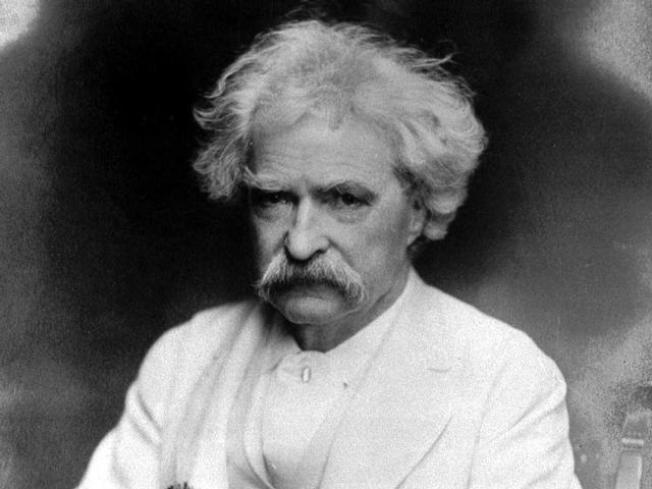 Mark Twain Speaks From His Berkeley Grave