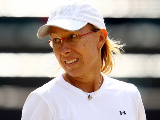 Tennis Legend Navratilova Diagnosed With Breast Cancer