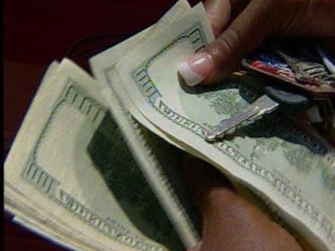$100 Bills Rained Down in Sunnyvale