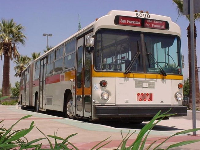 Old San Francisco Muni Buses to Be Converted Into Homeless Showers