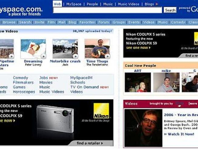 MySpace Finally Makes a Facebook Page