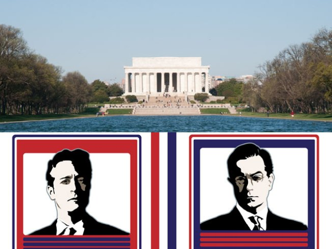 Comedy Central Duo Hits DC for Spoof Rally