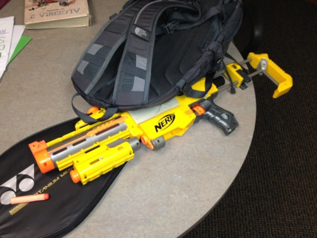 Nerf Gun Shuts Down Cupertino High School
