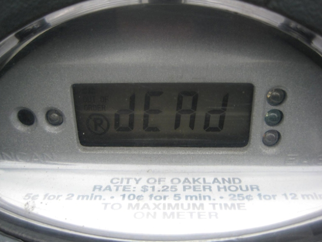 No Holiday for San Francisco Parking Meters