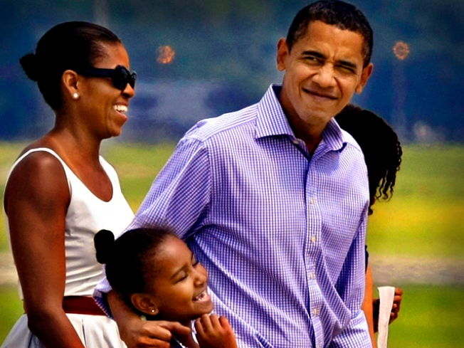 """Aloha Obama Family"""