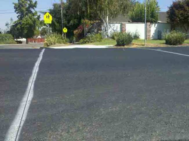 "Shody Road Striping Blamed on ""Perfect Storm"""