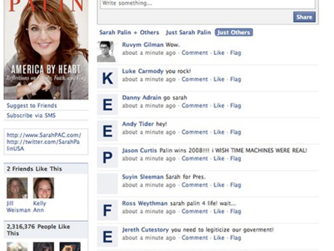 Palin and Beck Get Letterbombed and Survive to Delete It