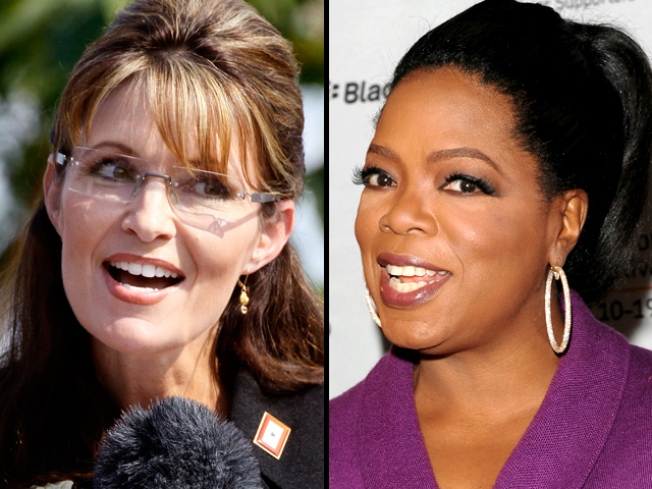 """Palin Tells Oprah: """"I Don't Even Like to Shop"""""""