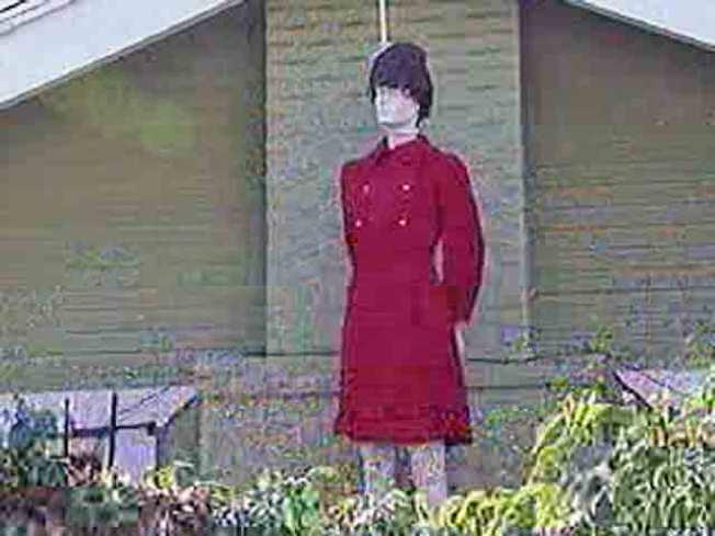 Palin Doll Hung by Noose at Hollywood Home
