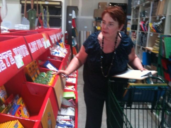 Teachers Get Free Supplies