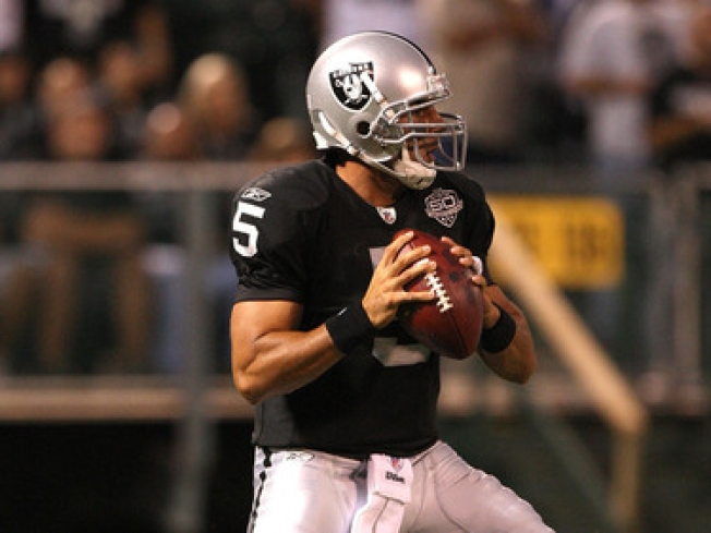 Raiders To Start Gradkowski at QB