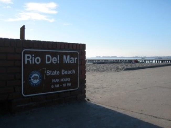 Creek Threatens Santa Cruz Manses