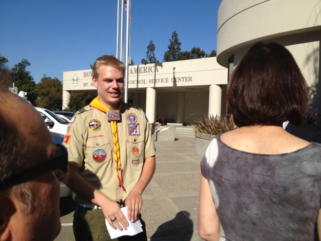 Lt. Gov. Newsom Among Lawmakers To Support Ousted Gay Boy Scout