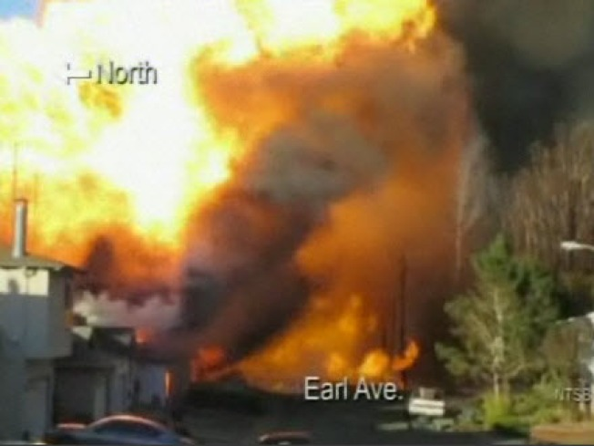 PG&E: We're Not To Blame for San Bruno Blast