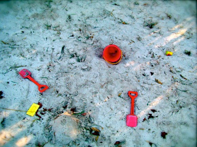 Kids Find Loaded Gun in Playground Sandbox