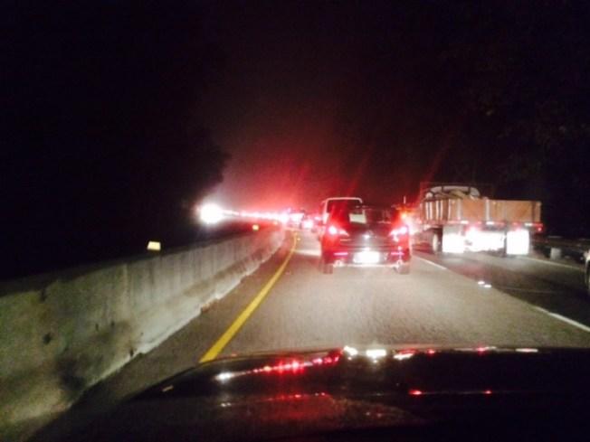 12-Car Accident Ties Up Highway 17 in Santa Cruz
