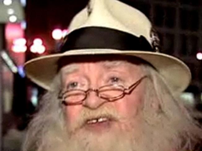 Santa John Lands on His Feet Just a Block Away