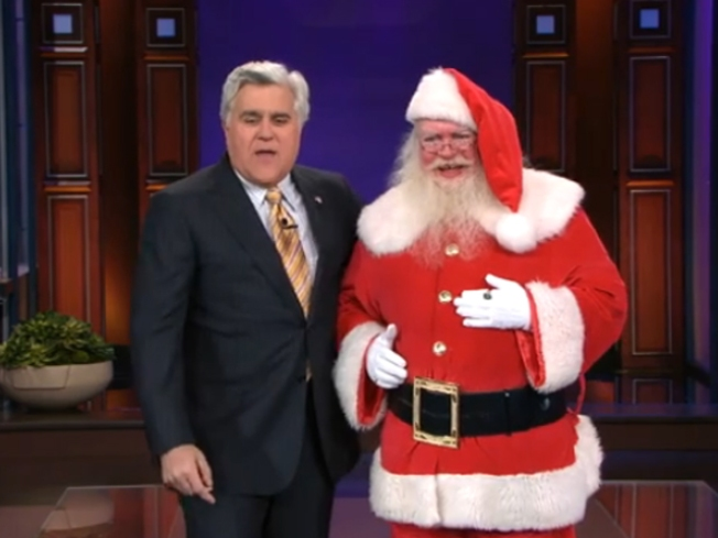 Santa John Brings His Unique Humor to the Tonight Show