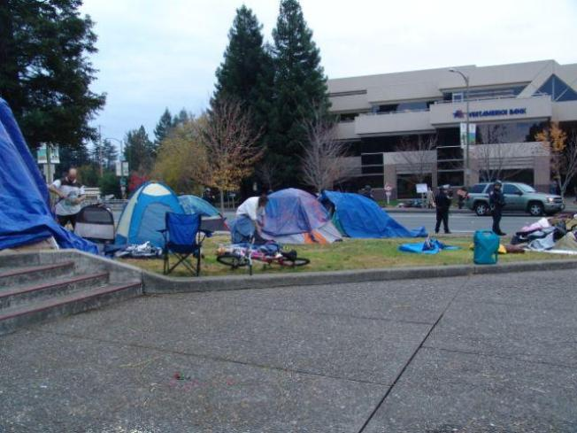 Latest Occupy Bust Happened in Santa Rosa