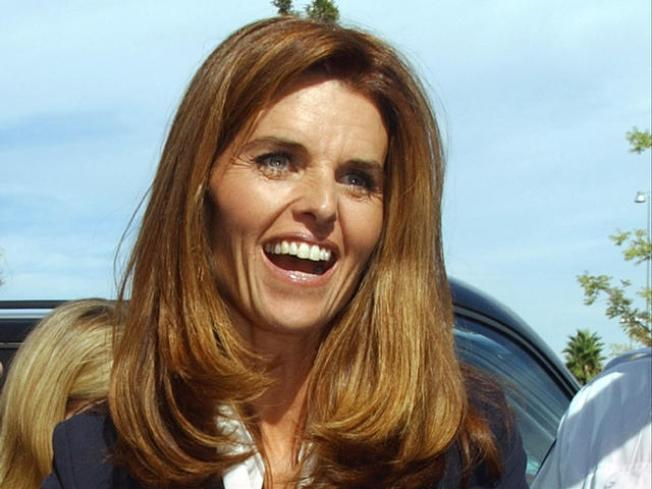 What Red Zone? Maria Shriver Busted (Again)
