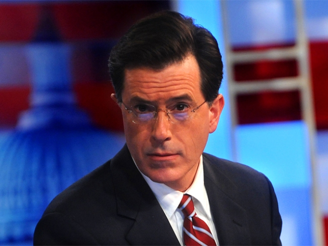Colbert Sounds Off on Vick