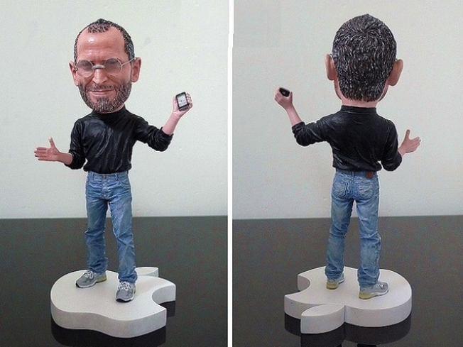Apple Asks eBay to Stop Sales of Steve Jobs Figurines