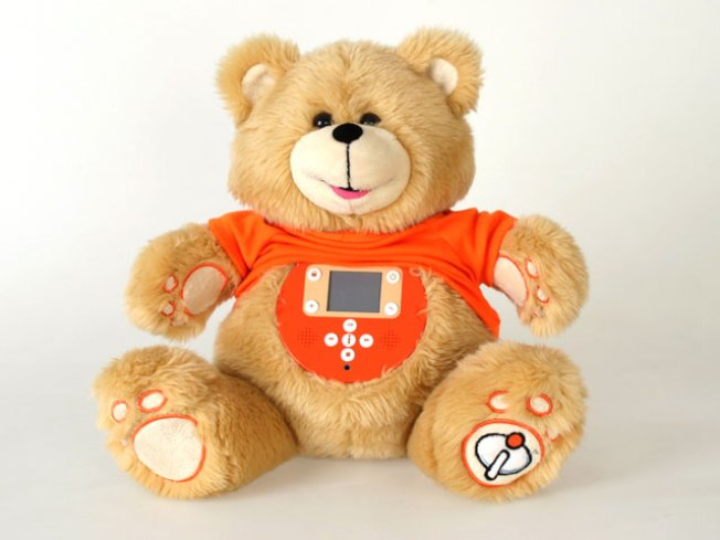 Fuzzy, Fat-Tummied Teddy Hides Hi-Tech Gadget