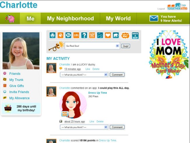 Togetherville: Social Networking Money For Schools