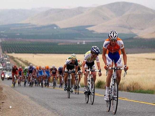 Tour of California Peddles South