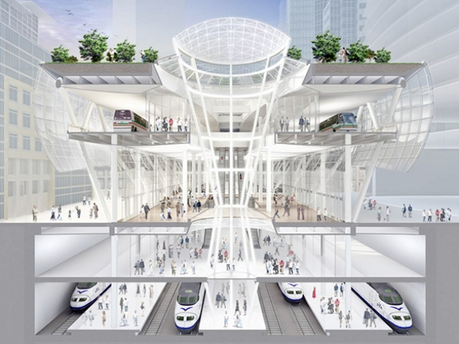 High-Speed Rail Must Go Into Transbay Site: State