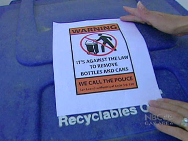 Thieves Dive Into Recycle Bins