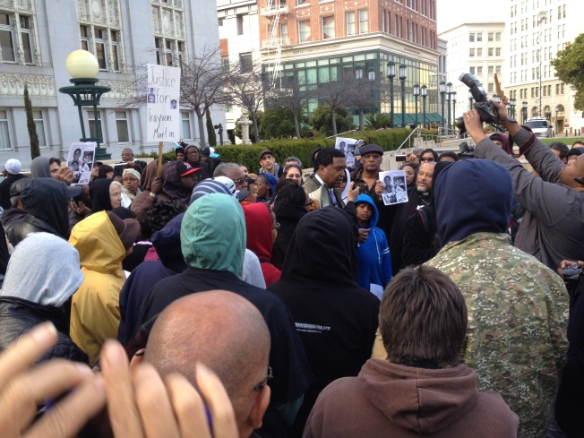 Trayvon Martin Rally In Oakland