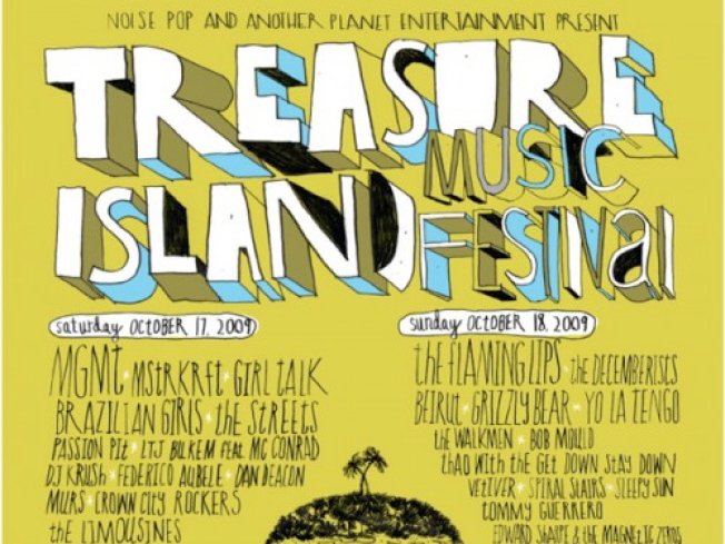 10/16-18: Treasure Island Music Festival