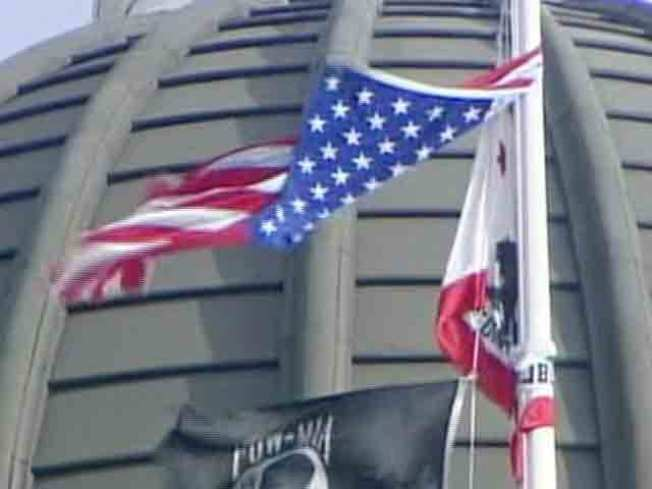 Torn US Flag Flown at Capitol Upsets Vets