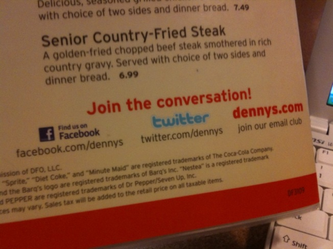 Denny's Struggles to Figure Out Twitter