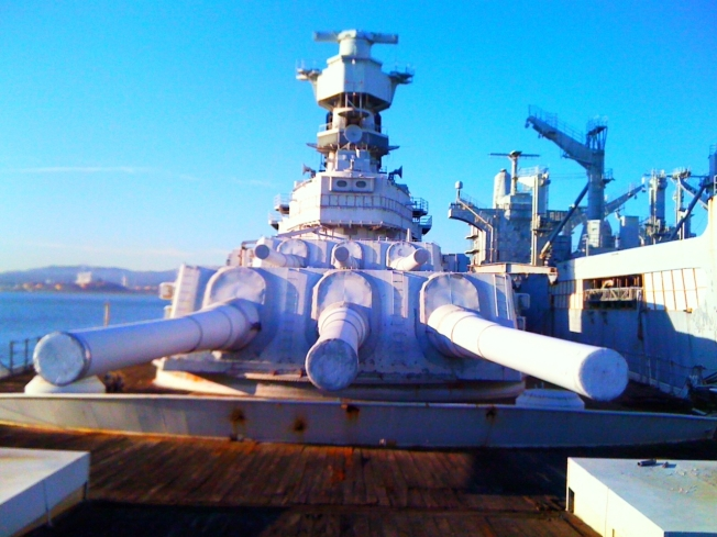 Historic Battleship Welcomes the Public